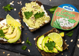 Dietní guacamole s Cottage Cheese